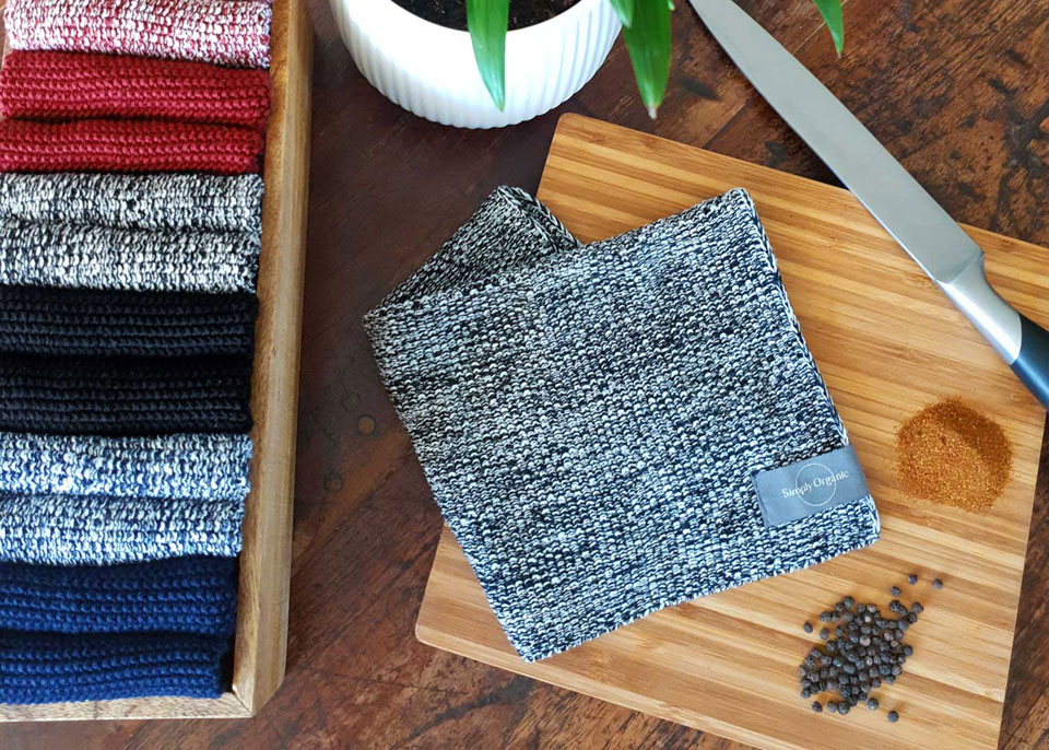 Simply Living organic dishcloths