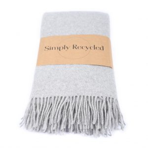 Recycled Wool throw